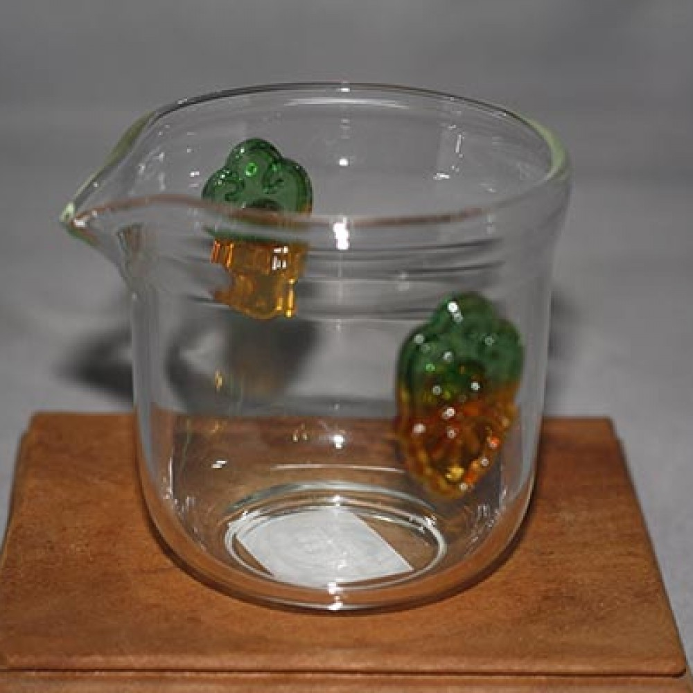 玻璃琉璃柄茶海