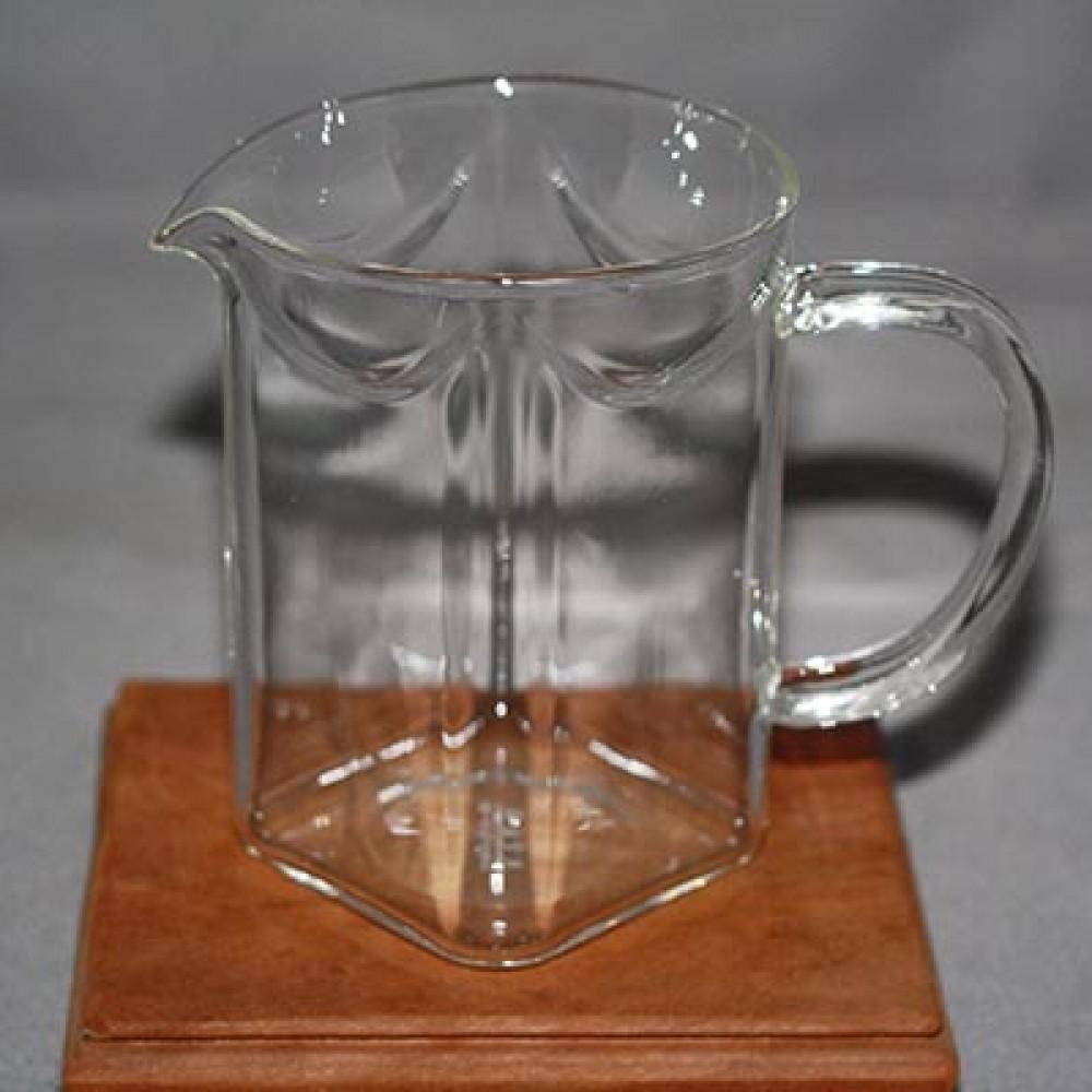 玻璃方型立體大茶海