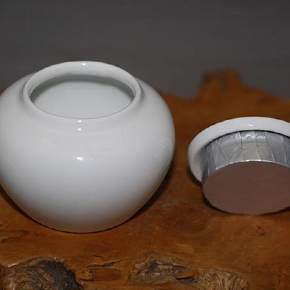 白瓷1兩茶葉罐