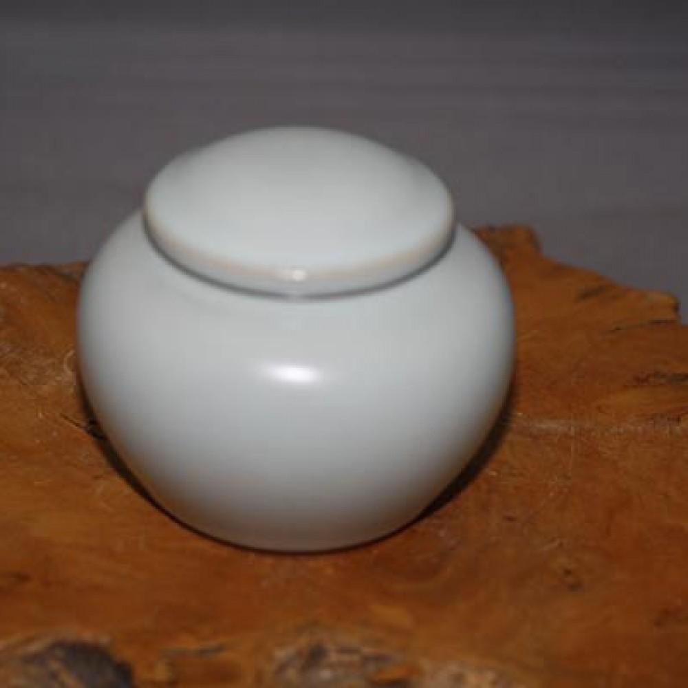 汝窯粉青1兩茶葉罐